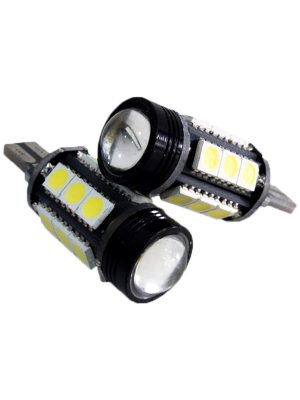 Race Sport RS-T15-LAMP-PR T15 High-Powered LED Projector LED Reverse Bulbs - Pair