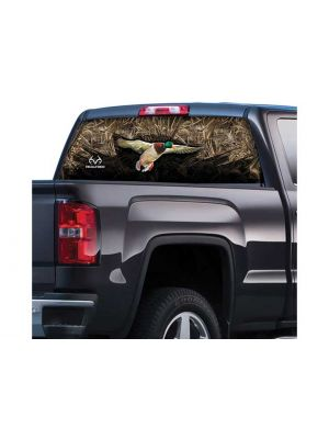 Realtree RT-WF-DK-MX5 Window Film Graphics Duck with Max 5 20