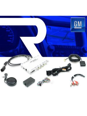 Rostra 250-7617 SoftTouch Navigation AddOn for GM 8 MyLink Touch Screen 2507617