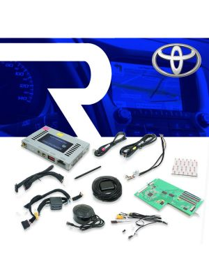 Rostra 250-7616 SoftTouch Navigation Add-On for Toyota 6.1