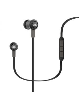 JBL Synchros S100i In-Ear Headphones with iOS Compatible In-Line Controls (Black)