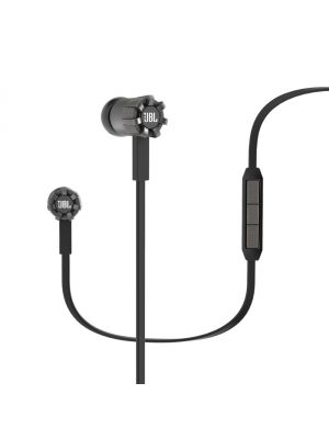 JBL Synchros S200i Premium In-Ear Headphones with iOS Compatible In-Line Controls (Black)