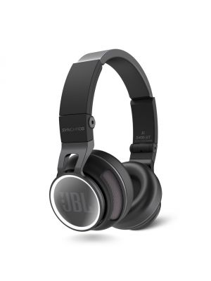 JBL Synchros S400BT Wireless On-Ear Stereo Headphones (Black)