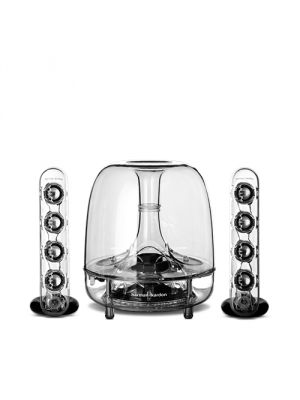 Harman Kardon SoundSticksIII 2.1 - Channel Computer Speaker Sound System with Subwoofer (SoundSticks-III)