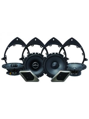 Alpine Electronics SPT-21GM Restyle 2-Way Speaker System for Full-Size Chevy, GMC Trucks or SUVs