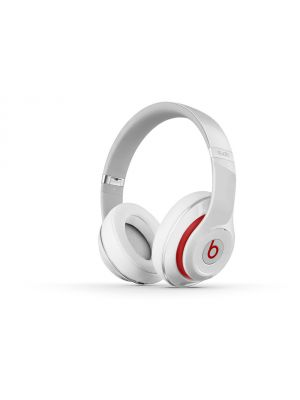 Beats Studio Over-Ear High Quality Headphones (White) (Studio 2.0)