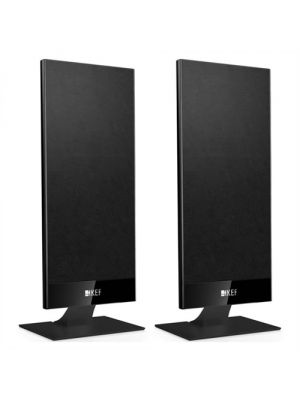 KEF KK-T101 2-Way Black Satellite Speakers (Pair)