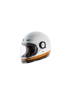 TORC T102ISO24 T-1 Retro Full Face Helmet [ISO Bars Graphic] (Large)