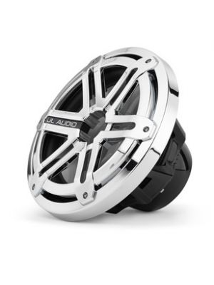 JL Audio MX10IB3-SG-CR 10-inch (250 mm) Marine Subwoofer Driver, Chrome Sport Grilles, 4 Ω (MX10IB3SGCR)