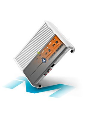 JL Audio M400/4-24V 4 Ch. Class D Full-Range Marine Amplifier, 400 W, For 24V Systems (M400424V)