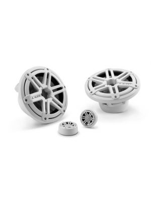 JL Audio M770-TCS-SG-WH 7.7-inch (196 mm) Tower Component System, White Sport Grilles (M770TCSSGWH)