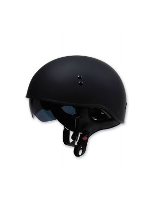 Torc T55 Spec-Ops Half Shell Flat Black L Motor Cycle Helmet T5515:24 Brand New