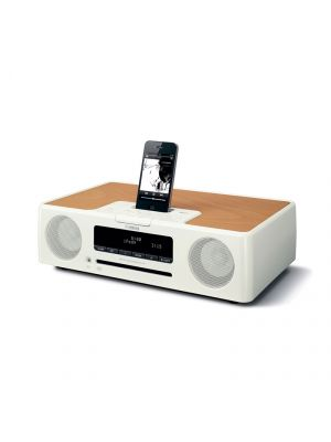 Yamaha TSX-132WH Desktop Audio System (White)