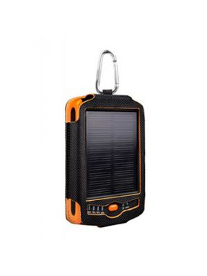 CellularInnovations TTSOLAR ToughTested - 6000mAh Solar Powered Battery Pack with Case