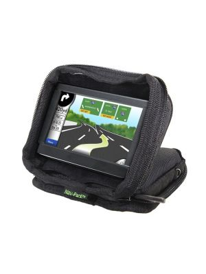 Bracketron UFM300BX GPS Nav-Pack Weighted Dash Mount/Carrying Case, Black
