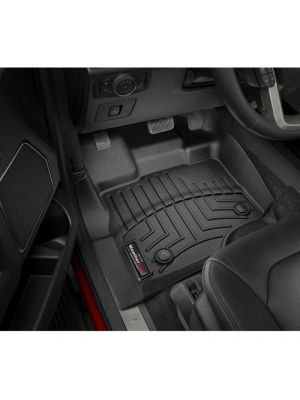 WeatherTech 446971V 15-17 F150 SUPERCREW AND SUPERCAB FITS VEHICLES WITH VINYL FLOORS FRONT FLOORLINER