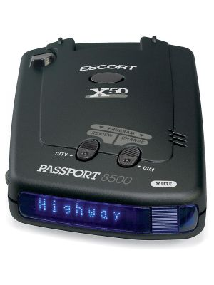 Escort Passport 8500 X50 Radar Detector (Blue Display)