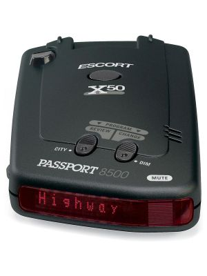 Escort Passport 8500 X50 Radar Detector (Red Display)