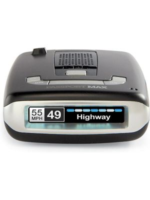 Escort Passport MAX Radar Detector with GPS and Preloaded Camera Database