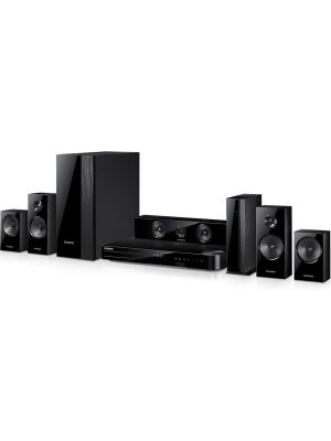 Samsung HT-F5500W 5.1 Blu-ray home theater system with Wi-Fi® and wireless rear speakers
