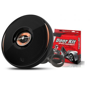 Infinity KAPPA 62IX 6-1/2 (160mm) Two-Way Car Audio Multi-Element Speaker with Metra SSDK Speaker Kit & Fast Rings
