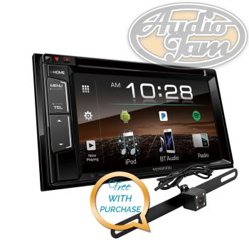 Kenwood DDX25BT 2-Din Monitor Car Receiver with Bluetooth