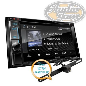 Kenwood DDX395 2-Din Monitor DVD Receiver with Bluetooth