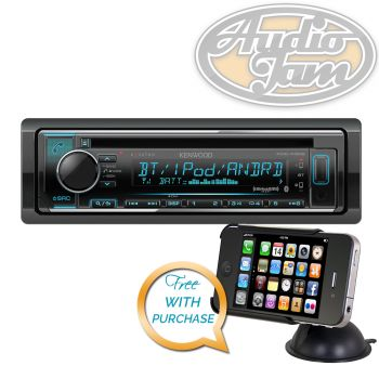 Kenwood KDC-X302 Car CD Receiver with Bluetooth