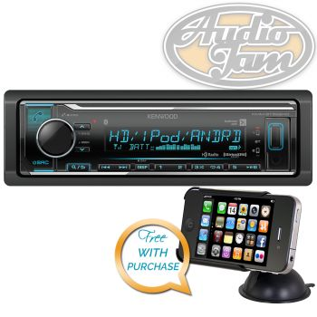 Kenwood KMM-BT522HD Car Digital Media Receiver with Bluetooth
