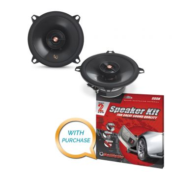 Infinity PR5012IS 5-1/4 (130mm) Two-Way Multielement Speaker + Sound Deadening Kit (BUNDLE PACKAGE)