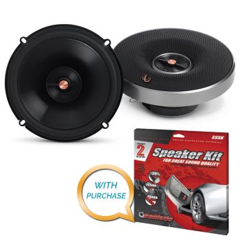 Infinity PR6512IS 6-1/2 Two-Way Multielement Speaker + Sound Deadening Kit (BUNDLE PACKAGE)