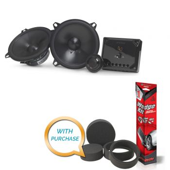 Infinity Reference REF-5030cx 5-1/4 component speaker system with Sound Deadening Kit & Fast Rings