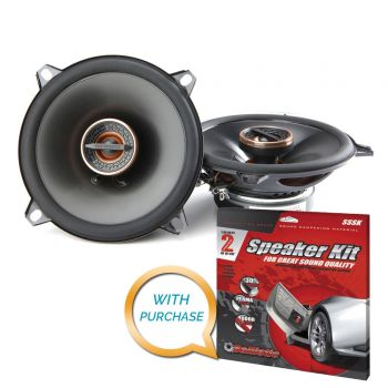 Infinity Reference REF-5032cfx 5-1/4 2-way car speakers & SSSK Kit BUNDLE