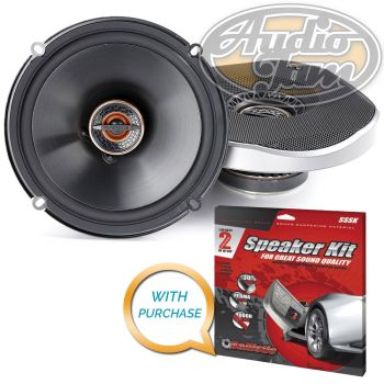 Infinity Reference REF-6532ex 6-1/2 2-way car speakers with Metra SSSK Speaker Kit REF6532EX