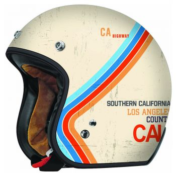Torc T-50 T5020PF Pacific Open Face 3/4 Motorcycle Helmet