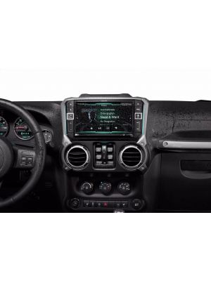 Alpine i209-WRA 9 All-Weather In-Dash Multimedia Touchscreen Restyle System for 07-17 Jeep Wrangler JK (i209WRA)
