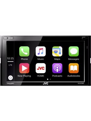 JVC KW-M730BT Digital Multimedia Receiver with FREE BOYO VTL17IRTJ Dual Mount Camera