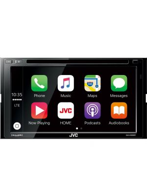 JVC KW-V830BT Double-DIN DVD Receiver w/ Built-In Bluetooth with FREE SiriusXM SXV300V1 Vehicle Tuner