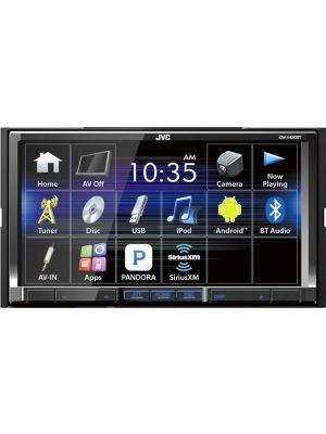 JVC KW-V420BT DVD Double-Din Receiver w/ Built-In Bluetooth & Bundled BOYO VTL17IRTJ Dual Mount Camera