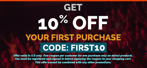 10% off your first purchase