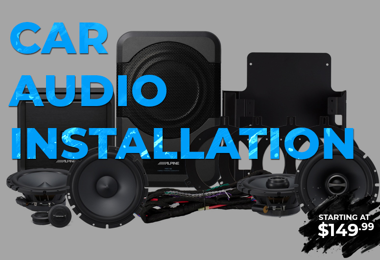 Car Audio Installation Service