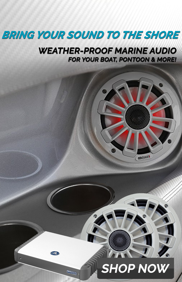 Boat Speakers & Boat Audio Systems