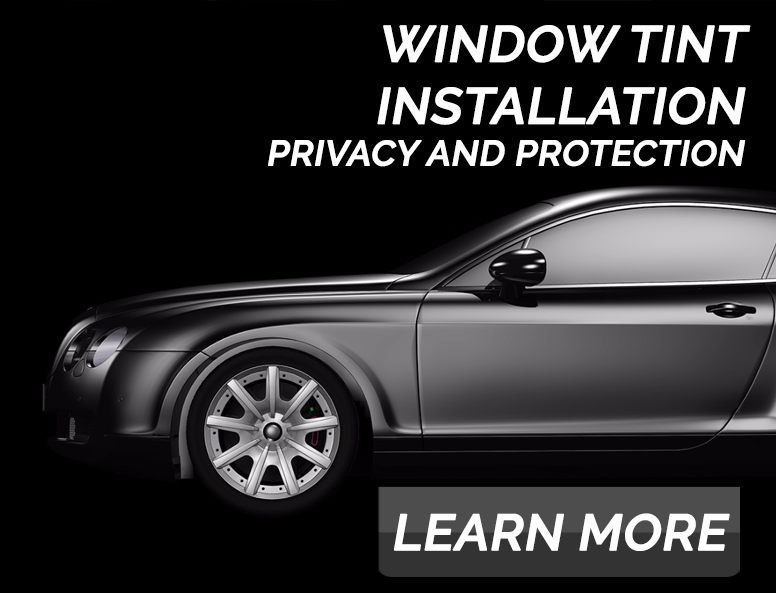 Window Tint Installation