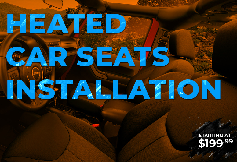 Heated Car Seats Installation Service