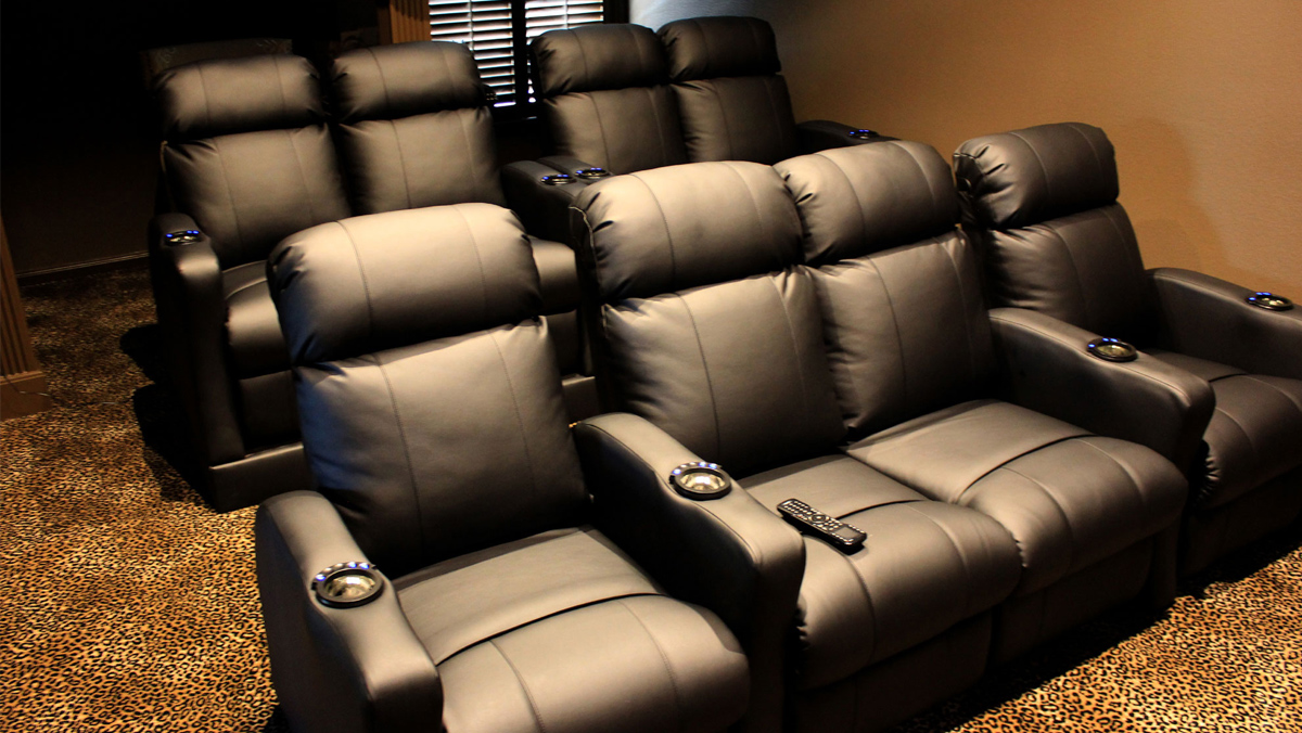 Home Theater Furniture Installation