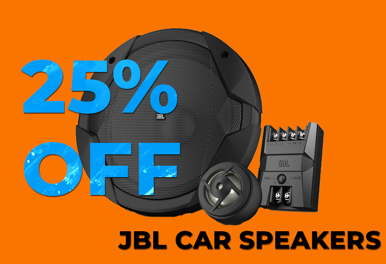 25% Off JBL Speakers