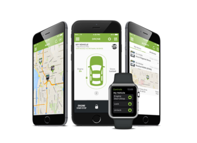 Smartphone Integrated Remote Start Systems