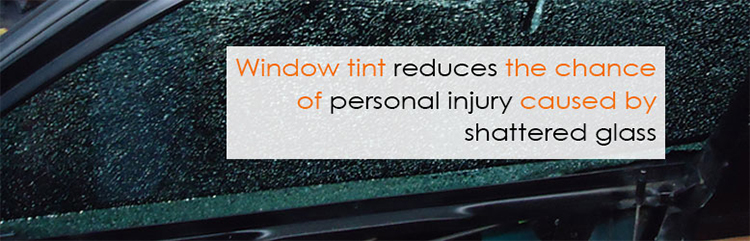 Window tint adds safety and prevents theft